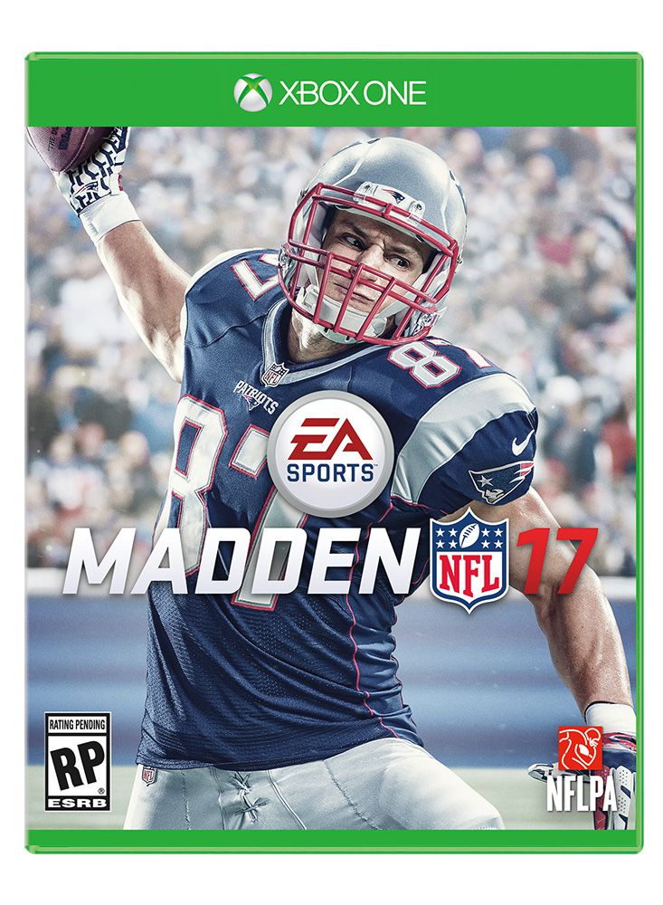 Madden NFL 17 cover (Xbox One) 733