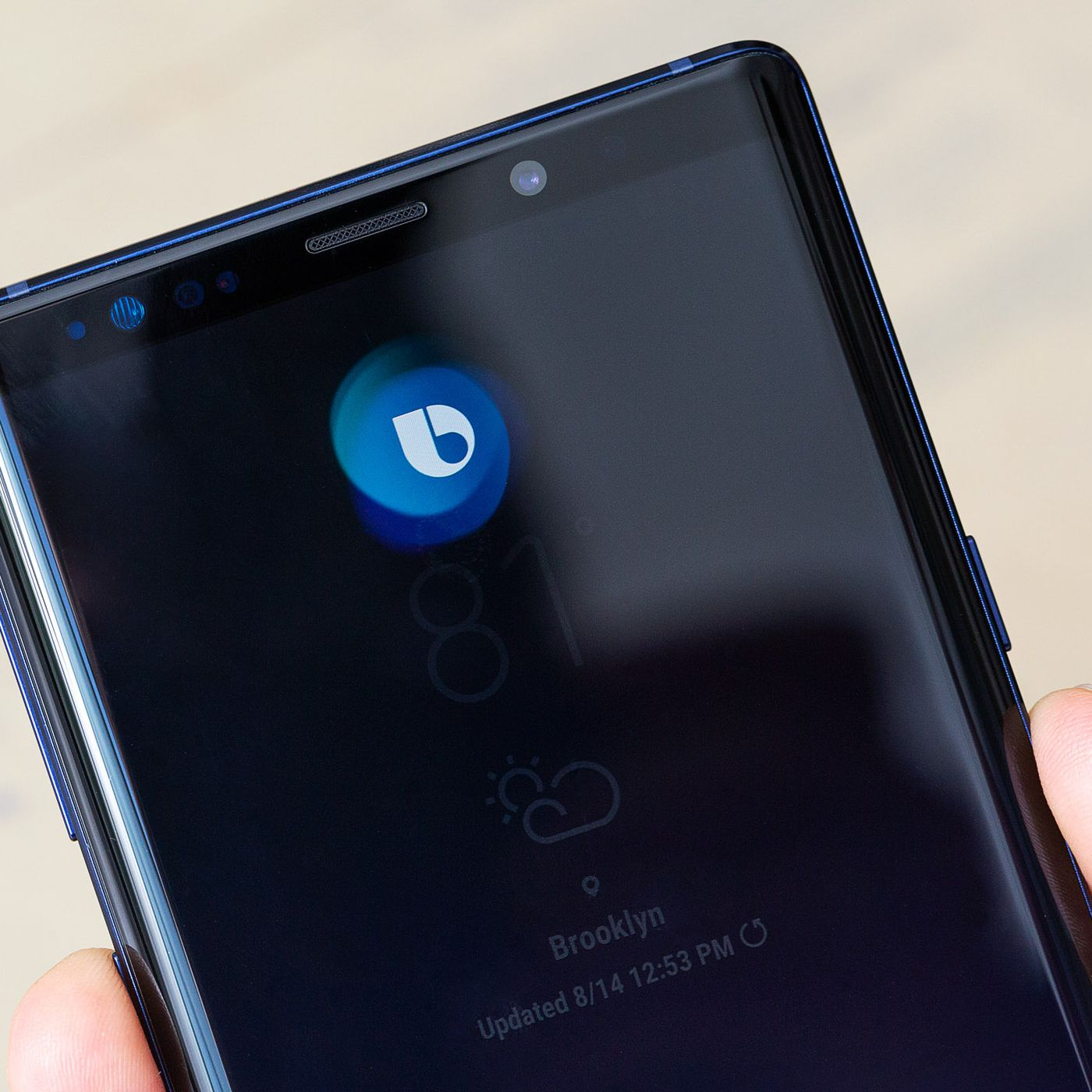 You can't turn off Bixby on the Note 9 - The Verge