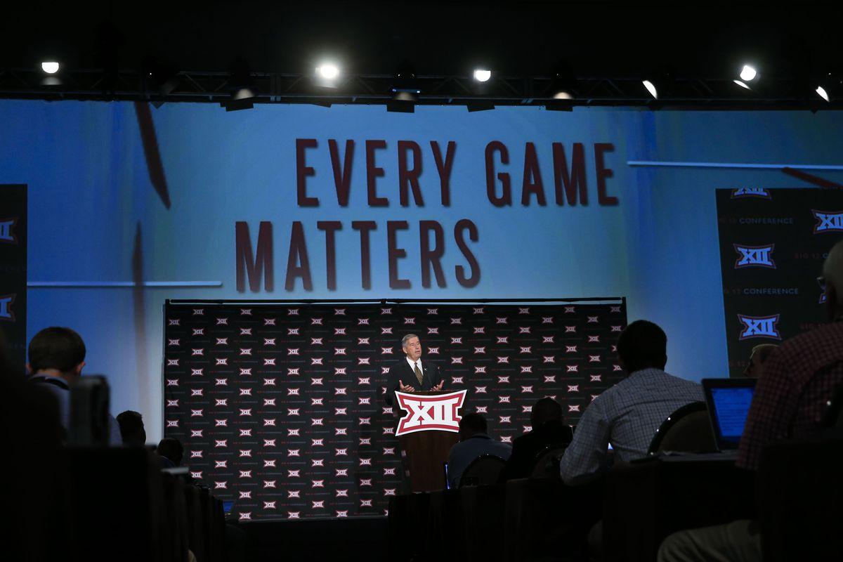 NCAA Football: Big 12 Conference-Media Day