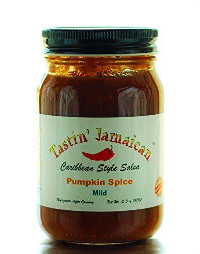 Tastin' Jamaican Pumpkin Spice mild Caribbean style salsa