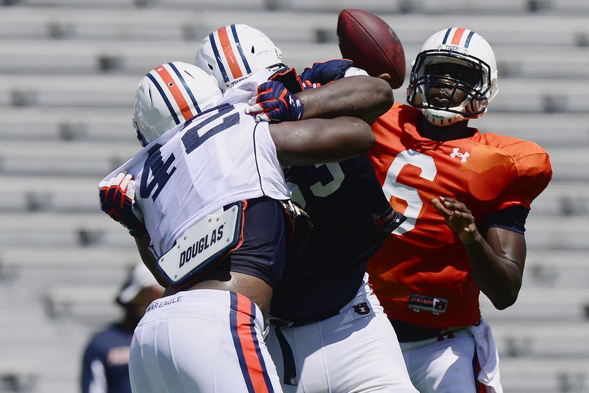 Is Jeremy Johnson a legitimate contender at quarterback? Maybe so.