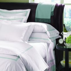 """<strong>Sferra</strong> Grande Hotel, <a href=""""http://www.scheuerlinens.com/sferra-grande-hotel.html"""">$127</a> for queen size at Scheuer Linens"""