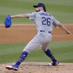 Tony Gonsolin, Dodgers starting pitcher on Tuesday