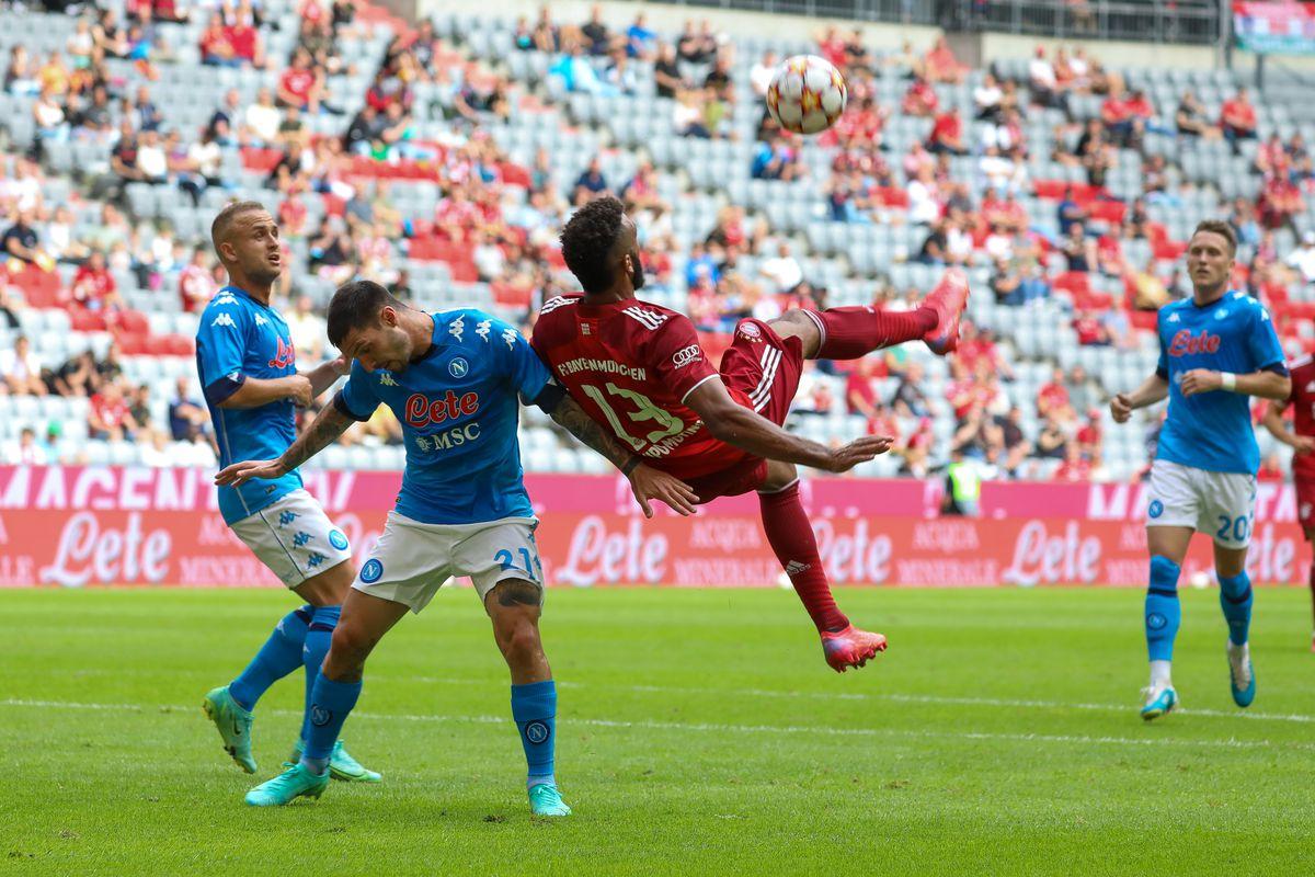 FC Bayern Munich v SSC Napoli - Pre-Season Match