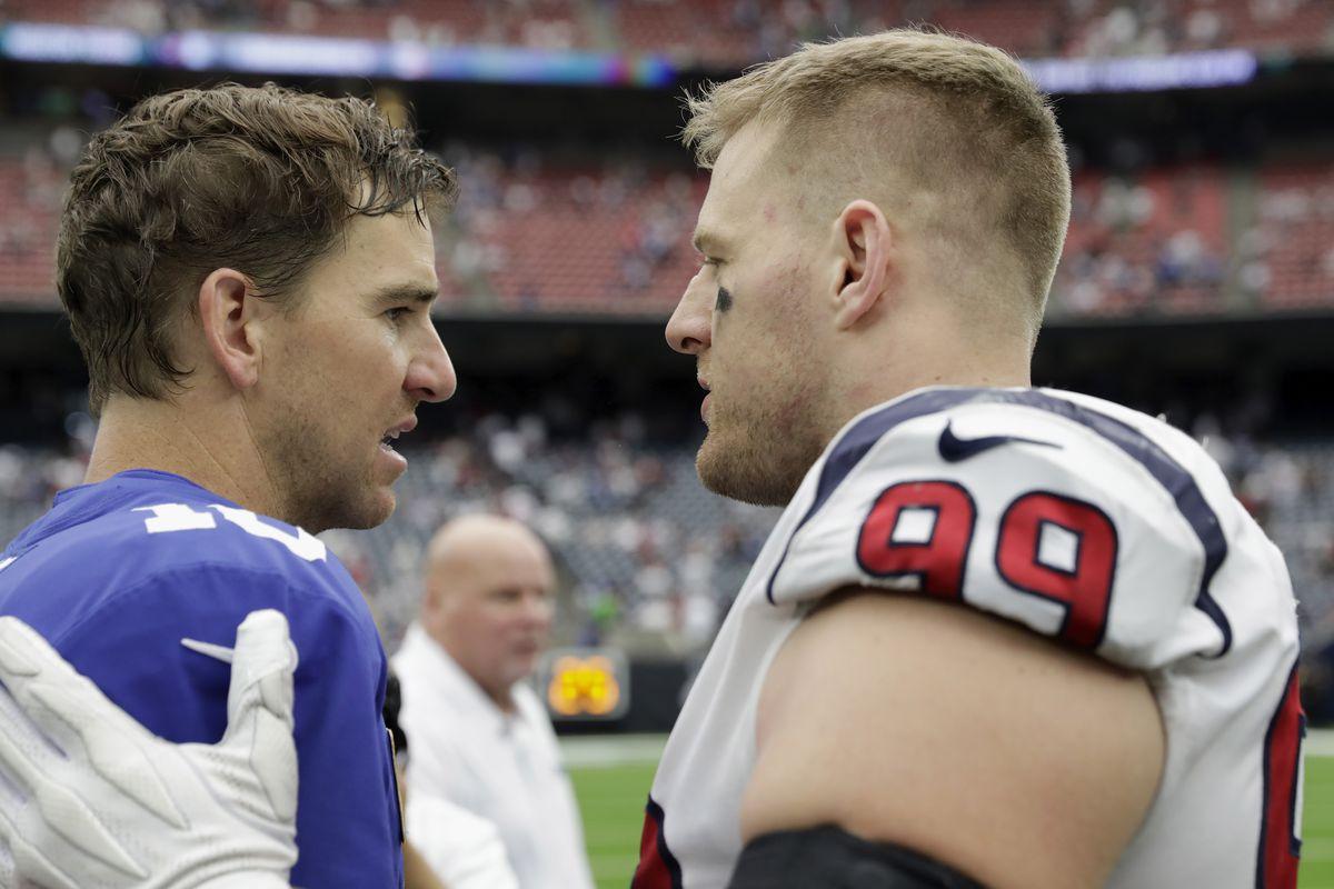 New York Giants v Houston Texans