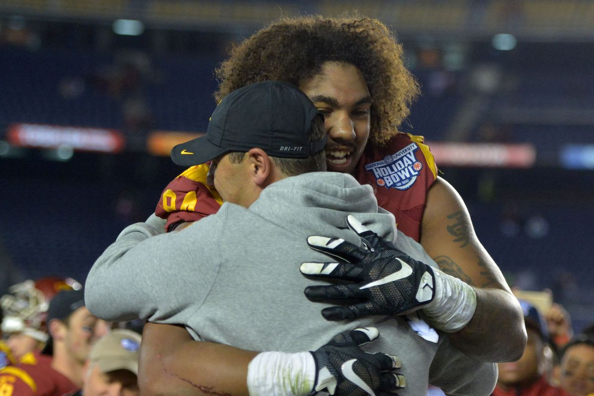 Leonard Williams might play a game or two at Qualcomm Stadium next year.