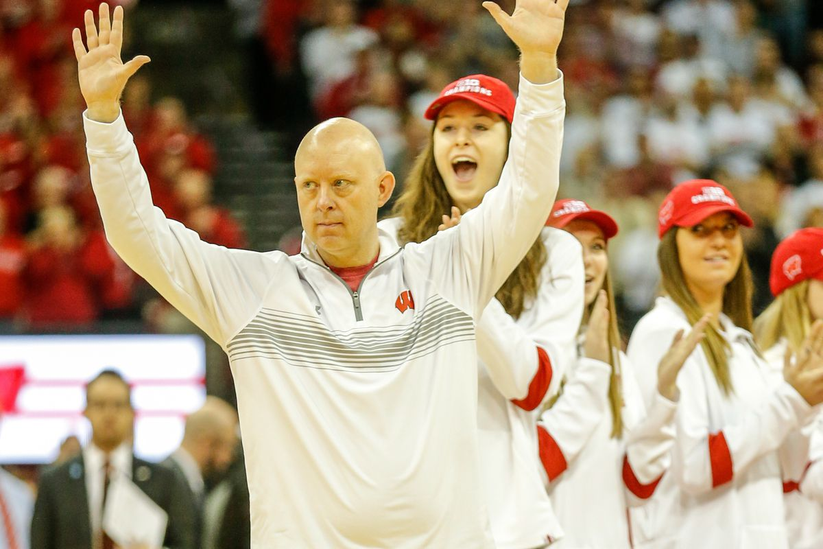 COLLEGE BASKETBALL: FEB 01 Michigan State at Wisconsin
