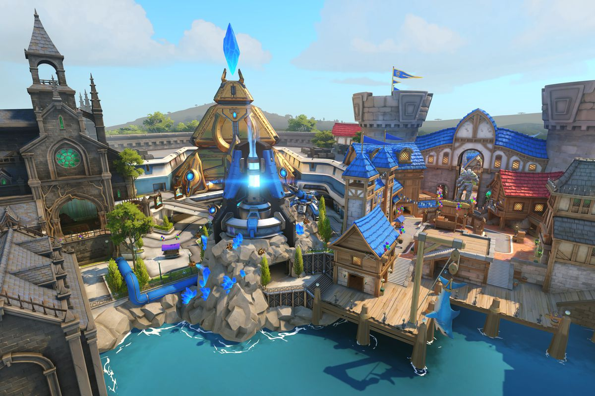 Warcraft New Map Tracking the references in Blizzard World, Overwatch's new map
