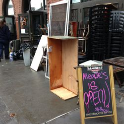 """<a href=""""http://ny.eater.com/archives/2012/10/postapocalypse_south_street_seaport_eating_drinking_intelligence.php"""">(Hurricane) Hangover Observations: Post-Apocalypse South Street Seaport</a>"""
