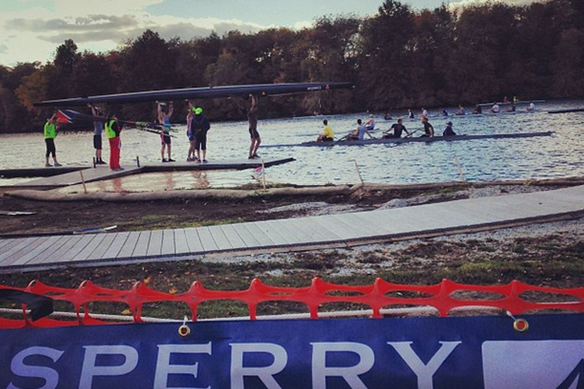"""Sperry at Head of the Charles, via <a href=""""http://instagram.com/p/fn6PWTwQeL/"""">@sperrytopsider</a>/Instagram"""