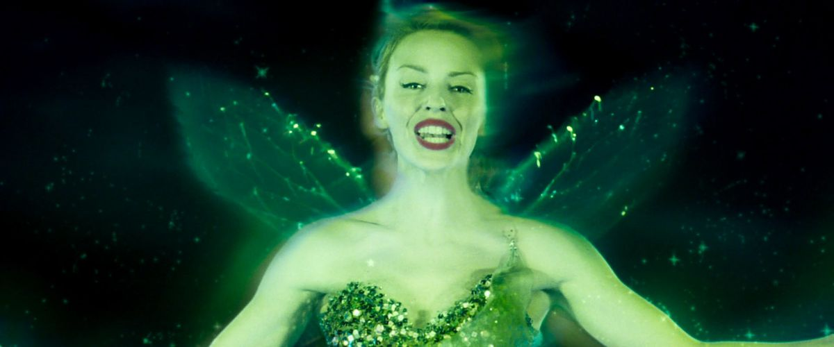 The Green Fairy of Absinthe sings in Moulin Rouge