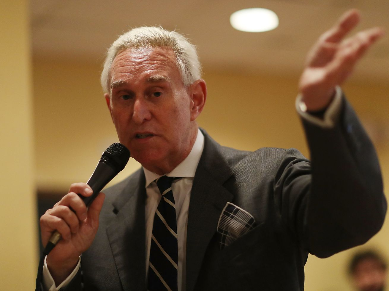 Roger Stone on May 22, 2017 in Coral Gables, Florida.