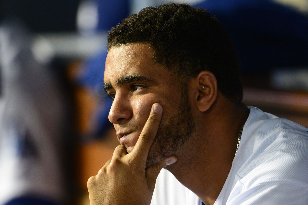 Yimi Garcia suffered his second blown save in four days, and took the loss on Thursday night.