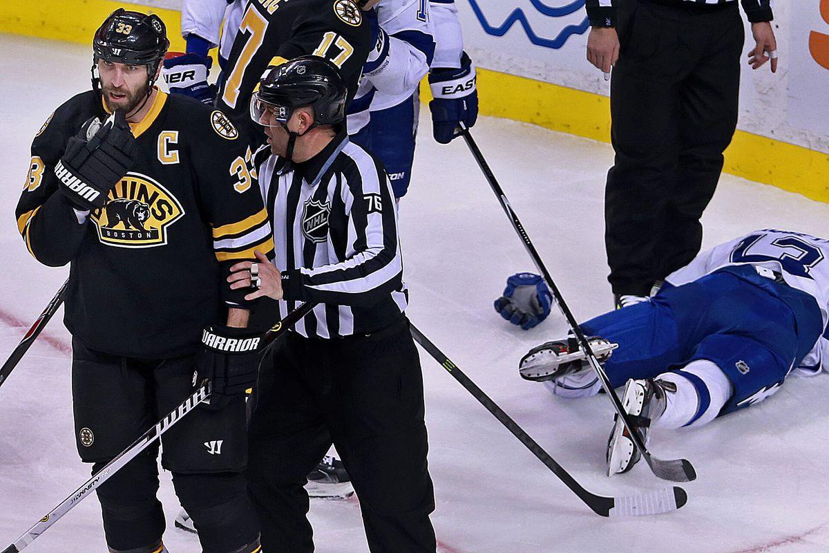 Boston Bruins Vs. New Tampa Bay Lightning At TD Garden