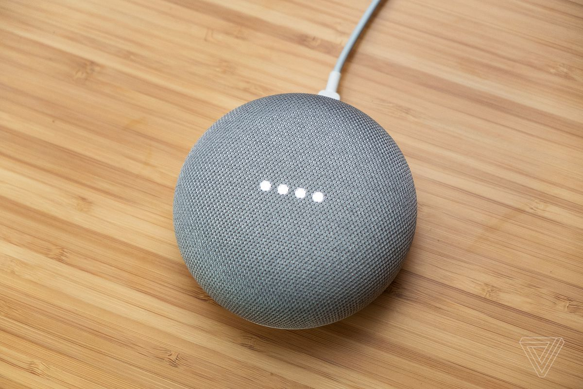 Google Home Mini Review The Verge Switch That Would Activate Whenever It Got An Audio Input If You Want To Use Primarily Play Music Can Wirelessly Link A Larger Speaker For Better Quality