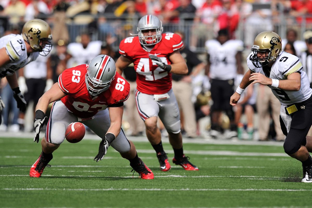 Adam Bellamy has departed from the Ohio State football program... For now.