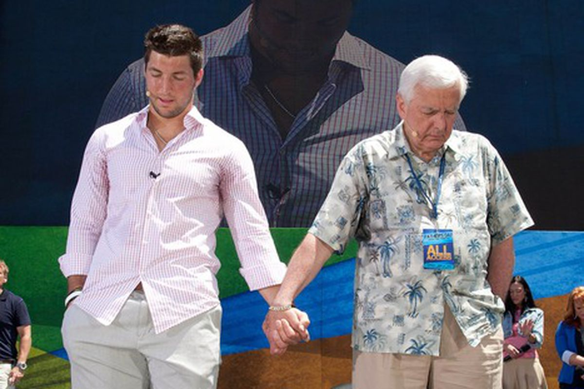 Save us Tim Tebow! You're our only hope!