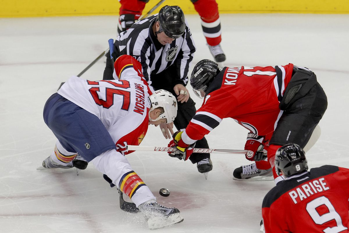 Jerred Smithson played the tough minutes, allowing for players like Tomas Fleischmann to score.