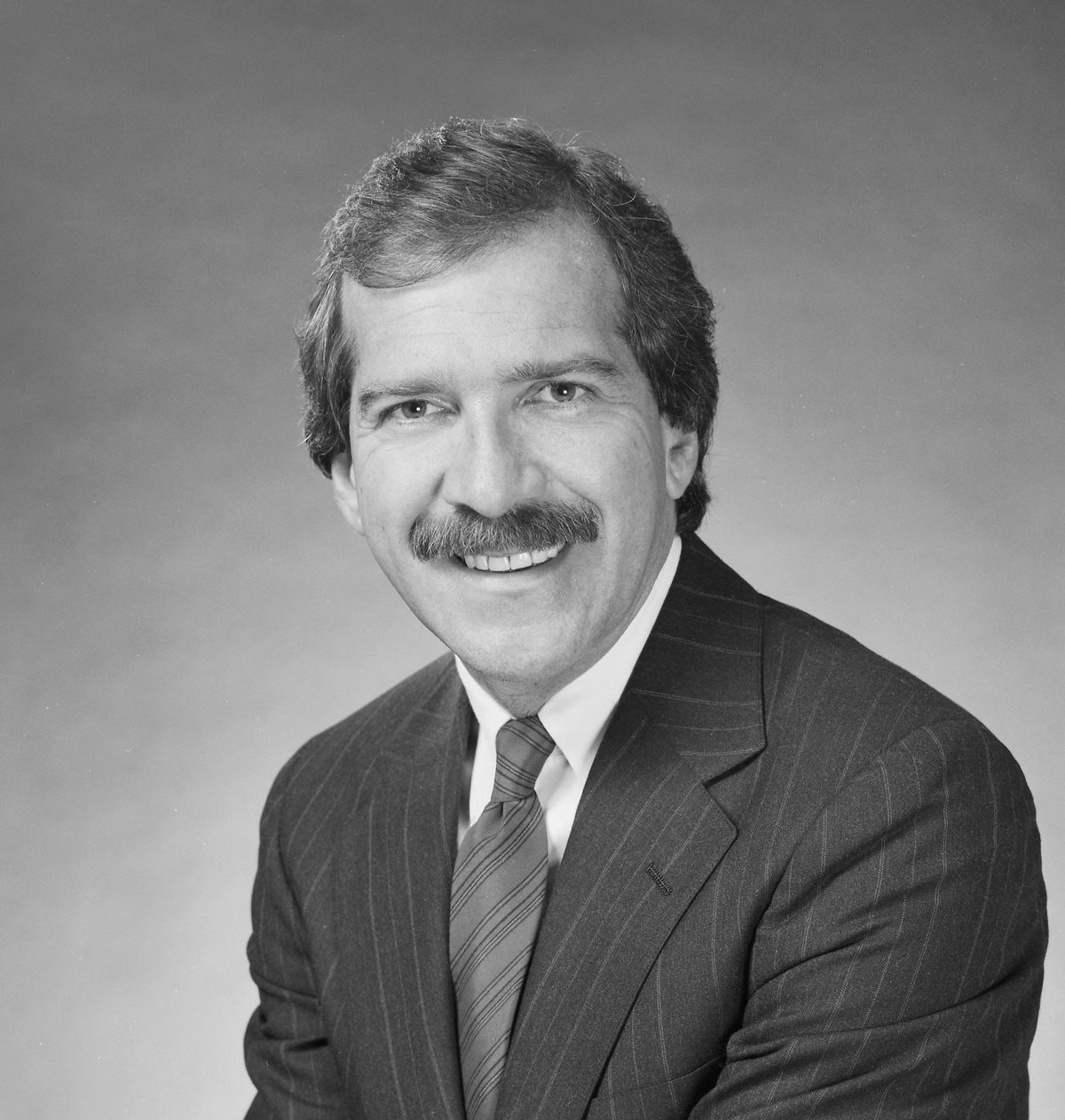 Pat O'Brien in 1985, while he was with CBS Sports (GettyImages)