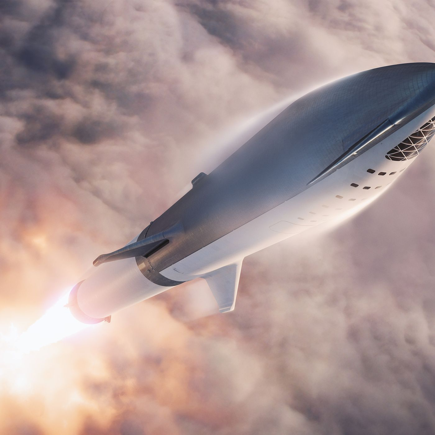 theverge.com - Loren Grush - SpaceX's Starhopper moves closer to its first flight