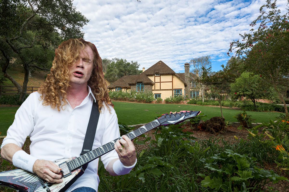 Dave Mustaine via Getty Images.
