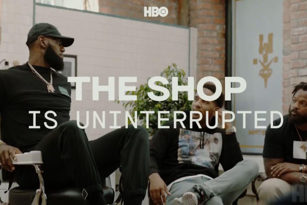 2cc722b90f8c Lakers News  HBO picks up barbershop-set talk show  The Shop  by ...