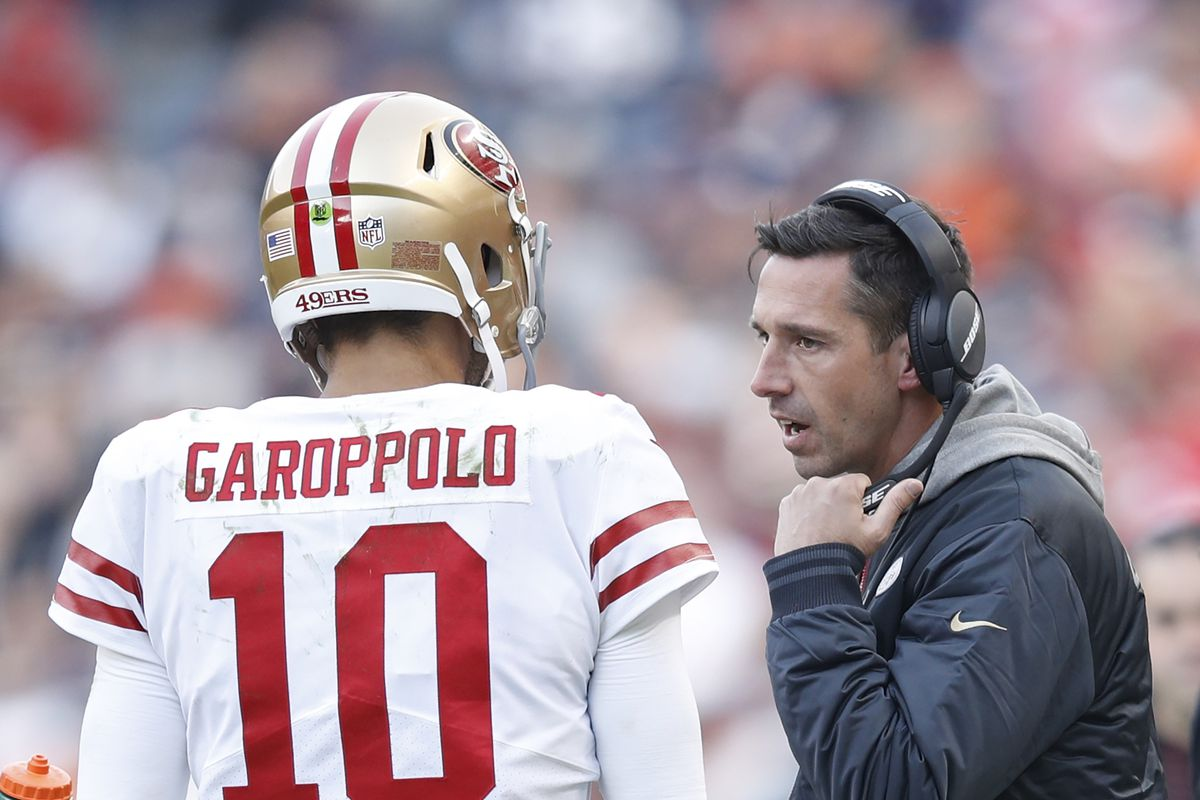 49ers news: Kyle Shanahan and Jimmy Garoppolo left the game with two bloodied noses