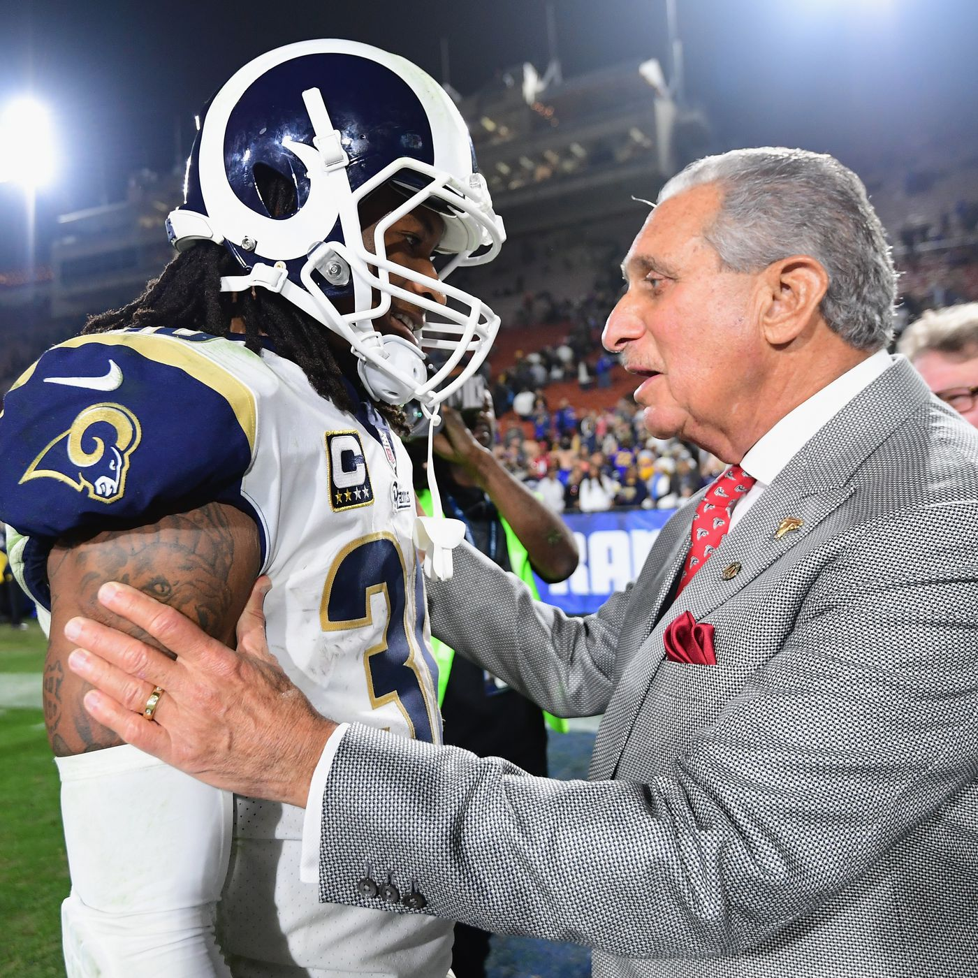Report Falcons Showed Interest In Trading For Rb Todd Gurley Before Rams Cut The Falcoholic