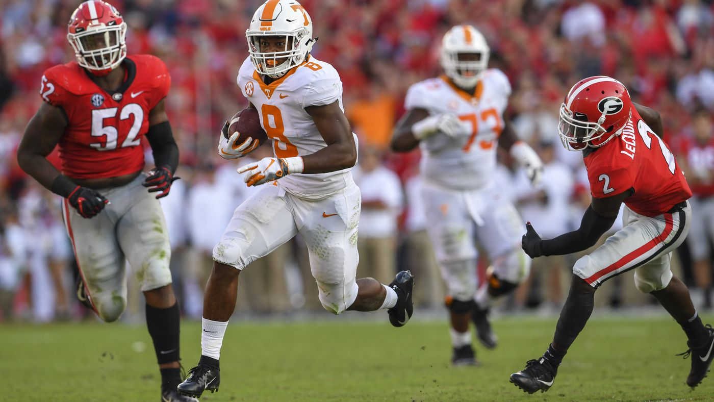 Vols Football: Tennessee vs. Georgia kickoff time, TV channel announced