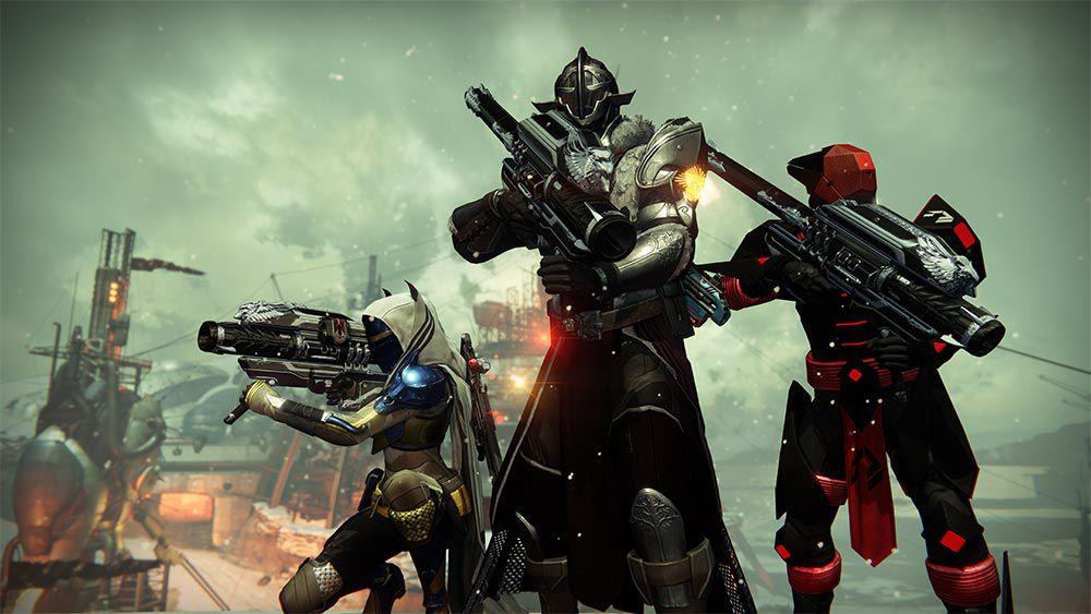 Destiny: Rise of Iron three Guardians