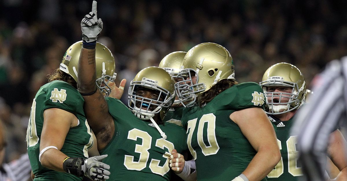 Notre Dame Football: Are the Green Jerseys Cursed for the Irish ...