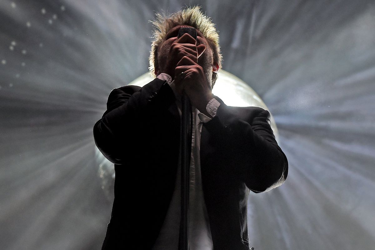 James Murphy of LCD Soundsystem performs at FYF in 2016