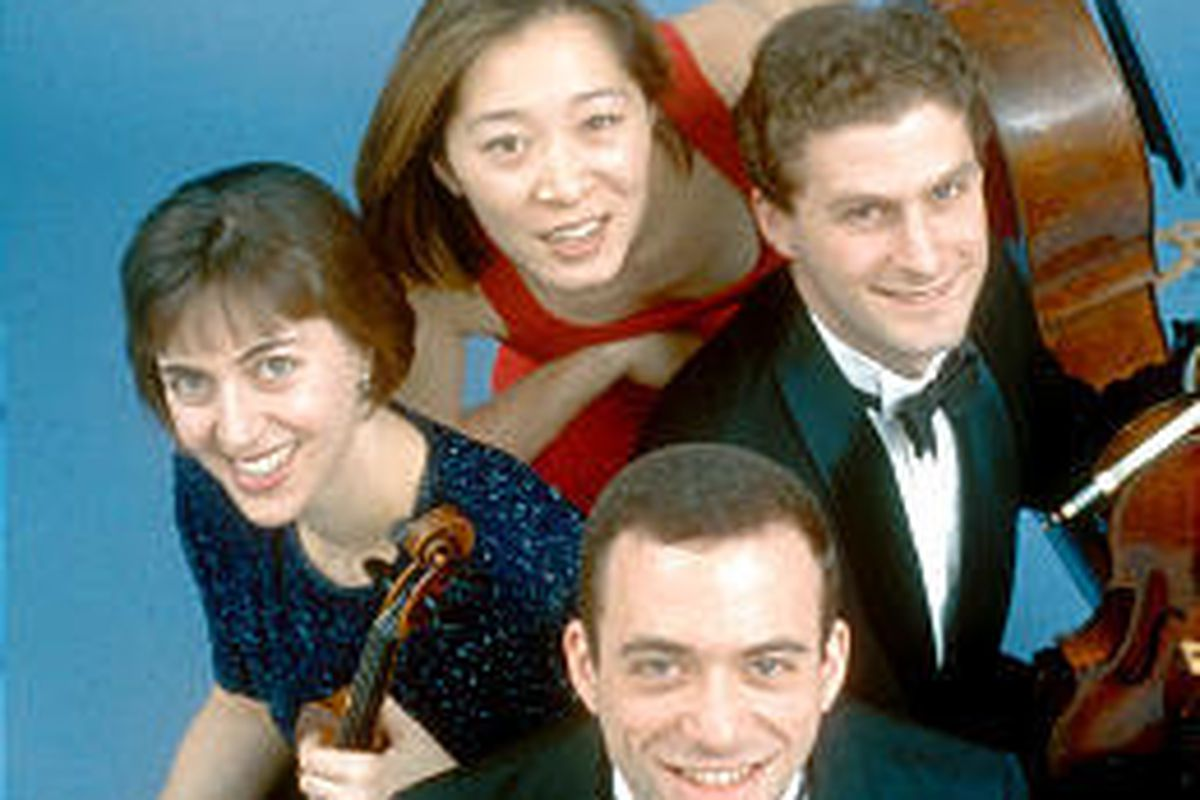 The Brentano String Quartet is on the cutting edge of today's ensembles.