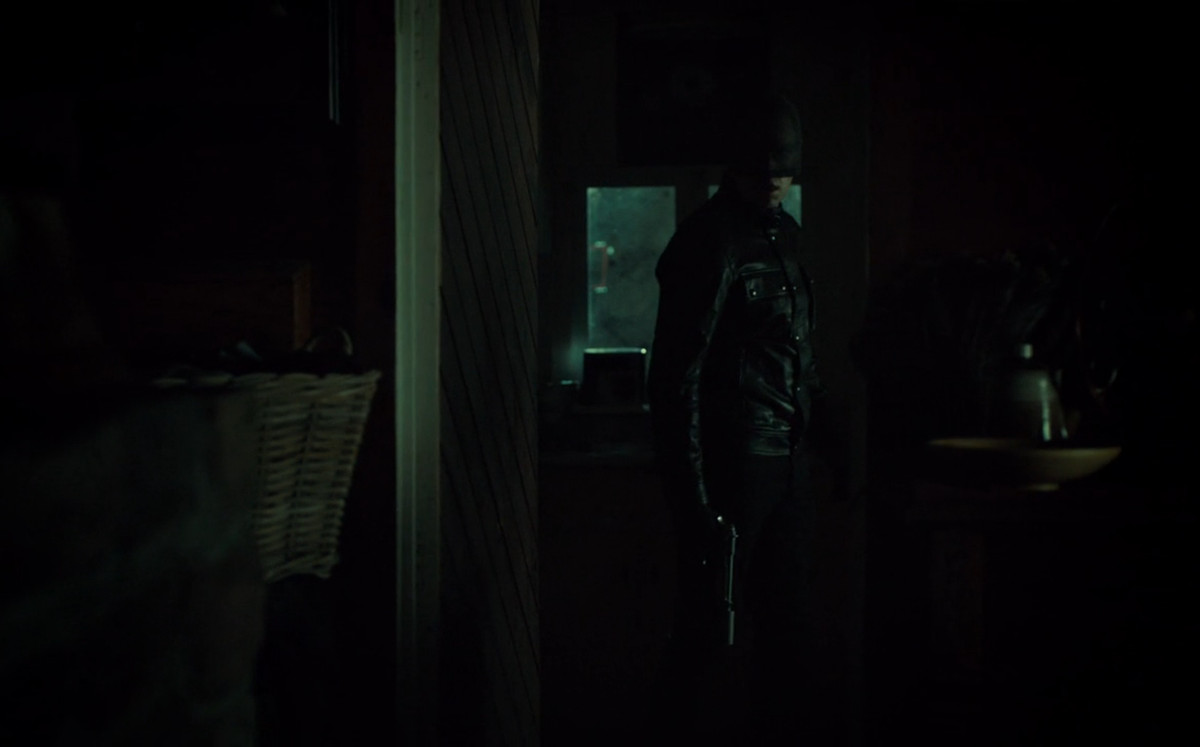 Francis invades Will's home on Hannibal.