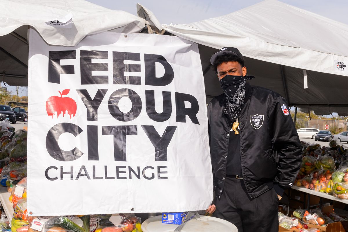 Feed Your City Challenge Covid-19 Relief Event - Chicago