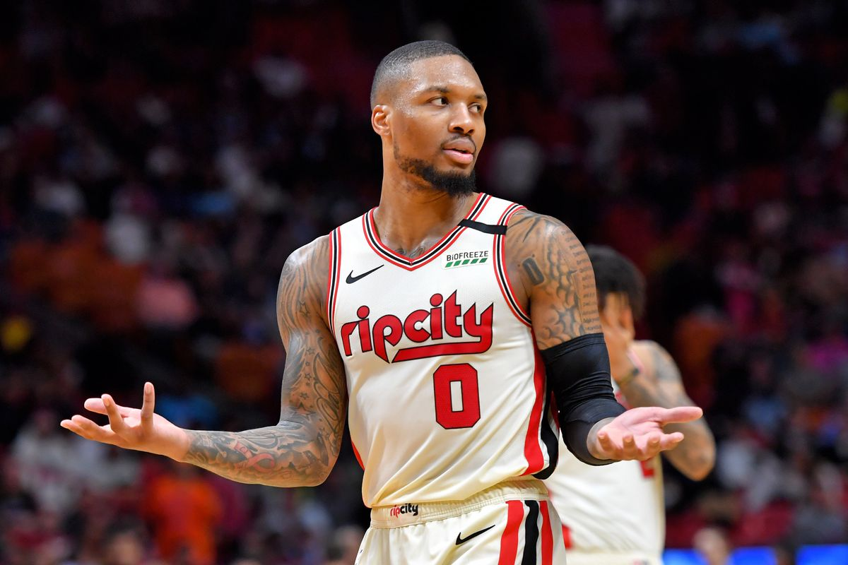 Damian Lillard is Thriving, Even as the Trail Blazers Have Struggled - Blazer's Edge