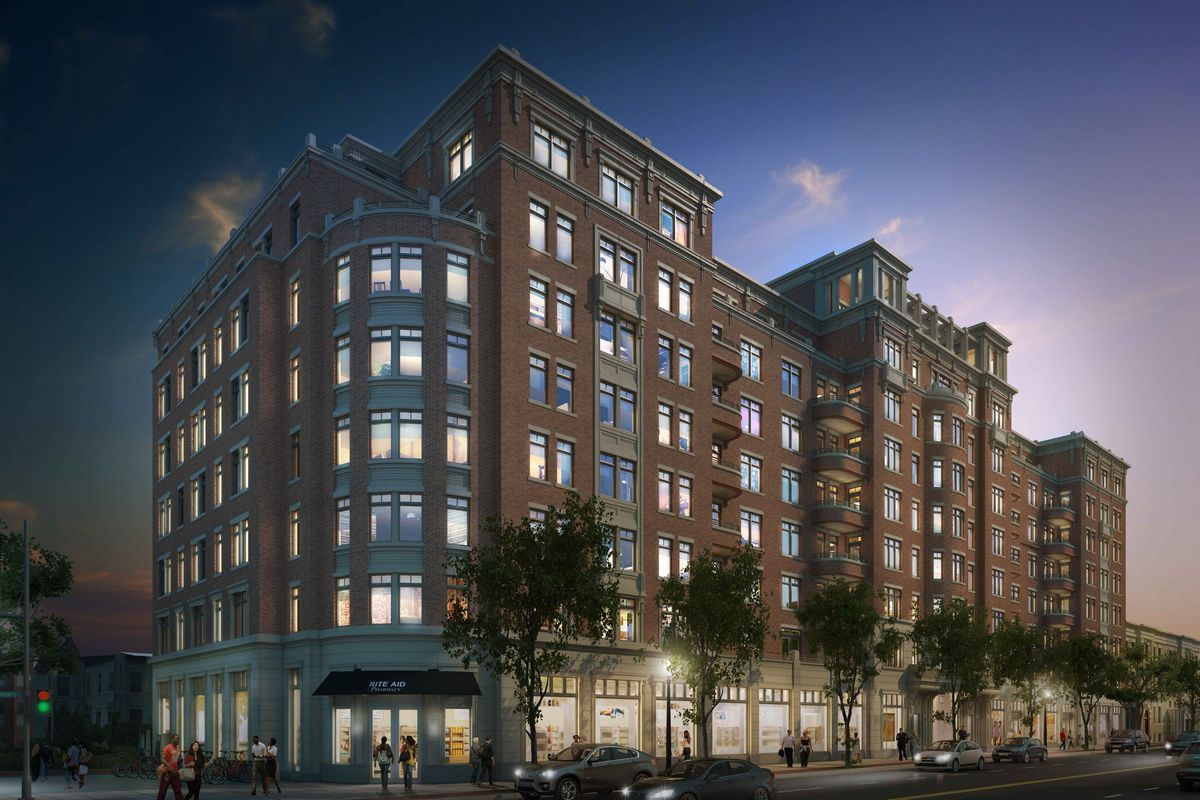 in u street a new luxury apartment building opens curbed dc