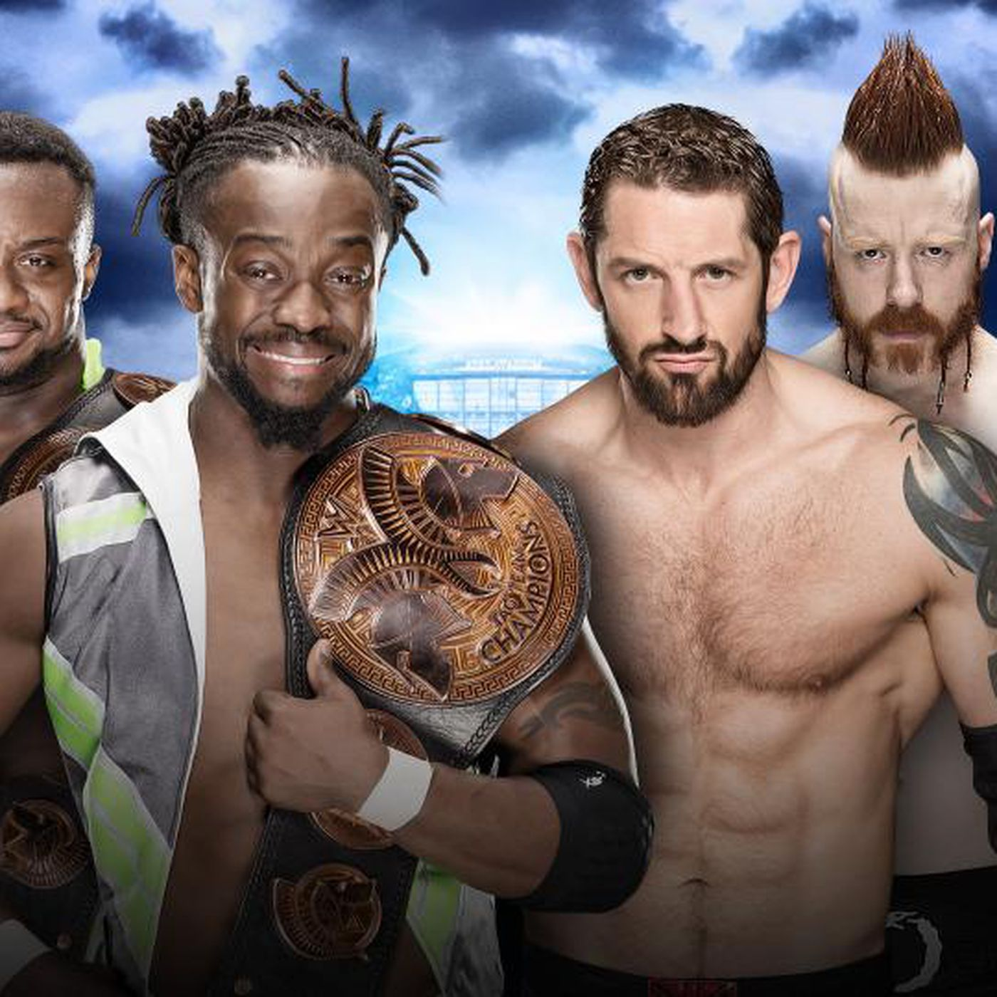Wwe Wrestlemania 32 Full Match Preview New Day Vs League Of Nation Cageside Seats