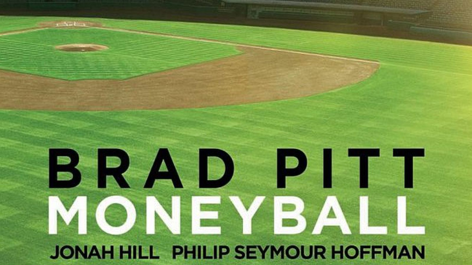 moneyball review Brad pitt stars as billy beane in the big screen adaptation of michael lewis' baseball bestseller.