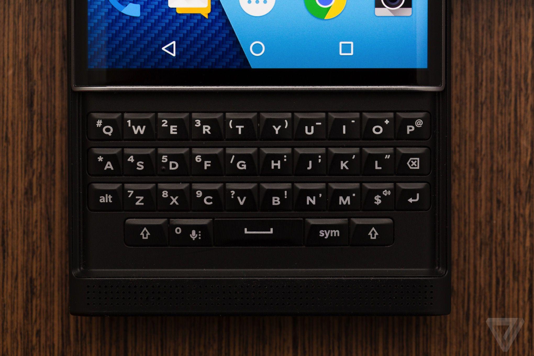 BlackBerry Priv hands on