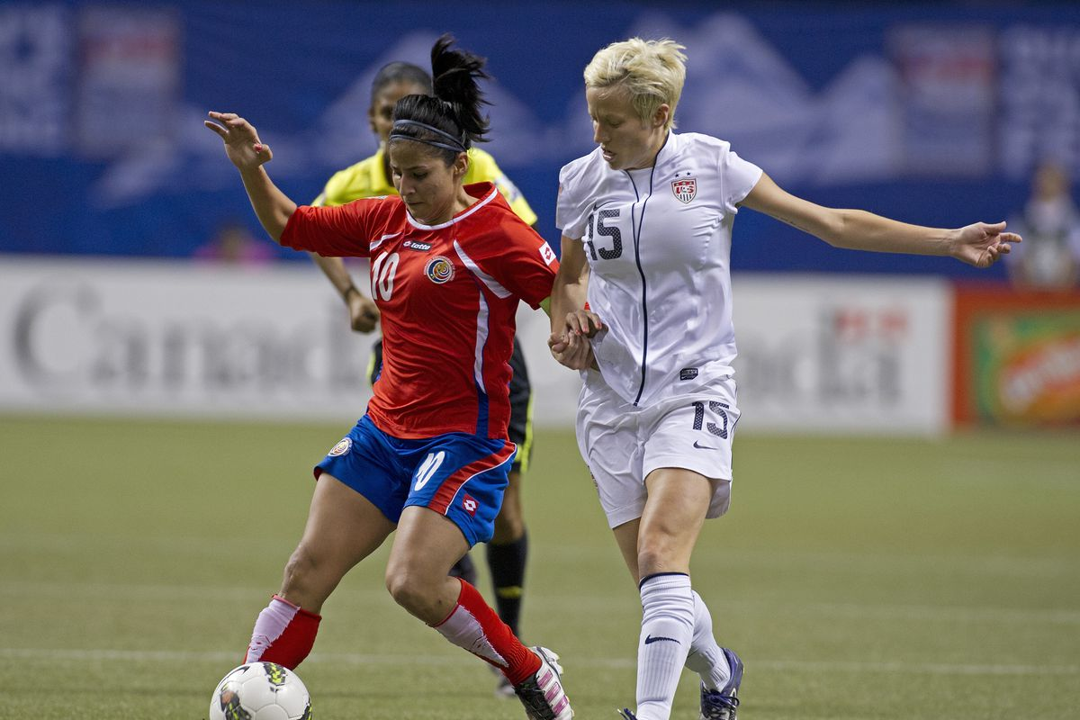 2012 CONCACAF Women's Olympic Qualifying - United States v Costa Rica Semifinal