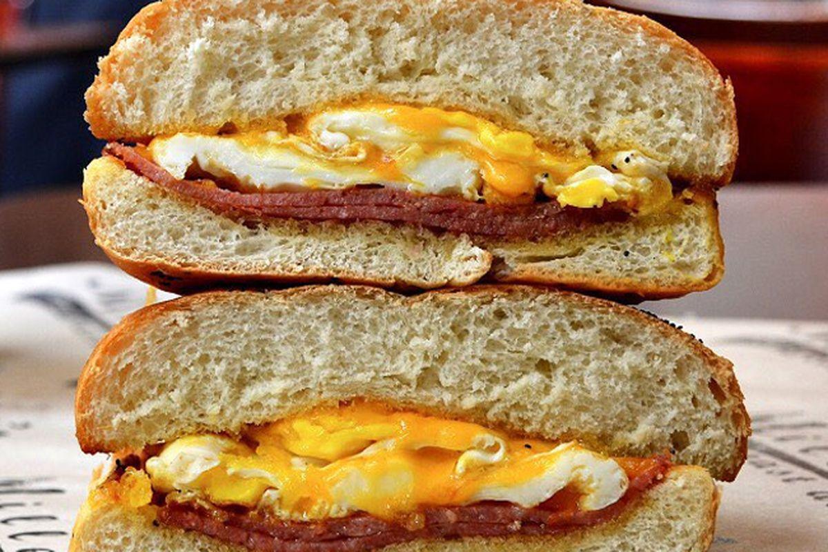 A sandwich at Miller's