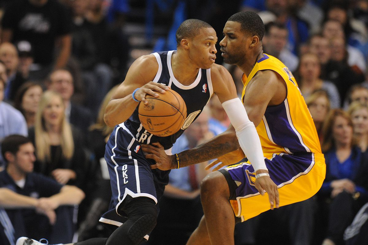2013 2014 Game 22 Oklahoma City Thunder Dominate Los Angeles Lakers In Kobes Return To OKC 122 97