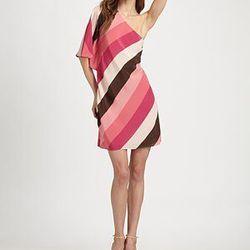"<a href=""http://www.saksfifthavenue.com/main/ProductDetail.jsp?PRODUCT%3C%3Eprd_id=845524446480104&FOLDER%3C%3Efolder_id=282574492827505&bmUID=jsLhvs2&esre=fshnstrepisode9pdp2"">Fashion Star Striped Dress by Nikki Poulos</a>, $295 at Saks"