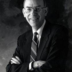 Robert F. Bennett in February 1991