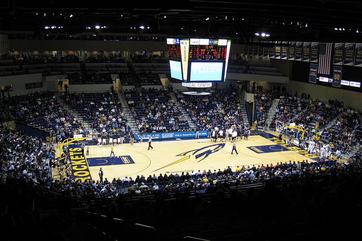 Toledo's Savage Arena is the home of Bob Nichols Court, dedicated in his name in 2008.