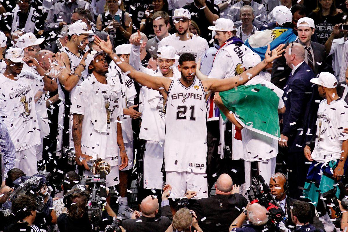 Heat vs. Spurs, NBA Finals 2014 Game 5: San Antonio rallies to clinch 5th NBA title - SBNation.com