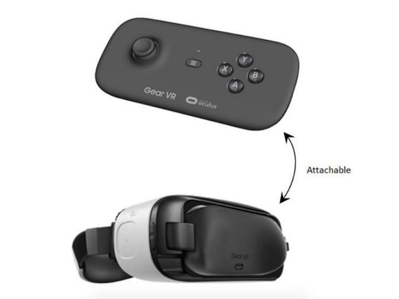 Gear VR Controller Render