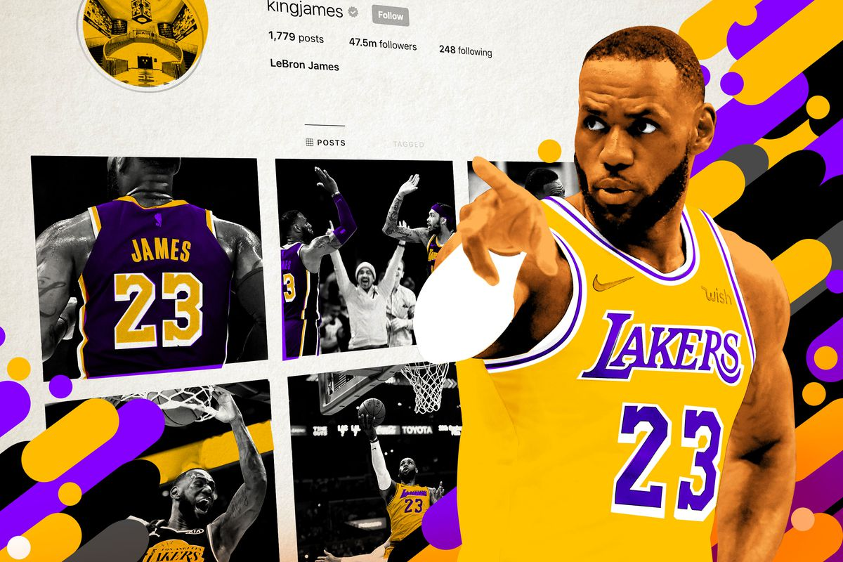 17c0188a2840 The Lakers  2018-19 Season As Seen Through LeBron s Instagram - The ...