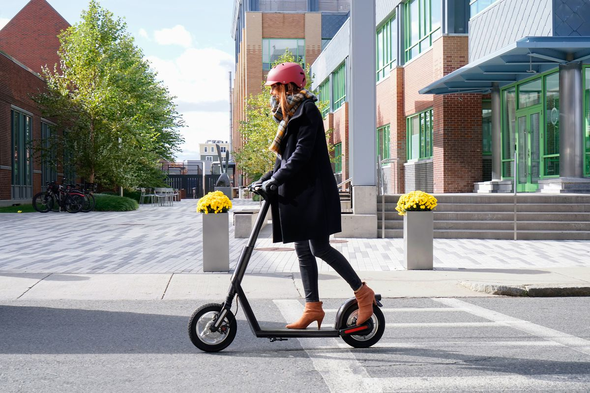 Electric Riding Vehicle >> Superpedestrian's follow-up to the Copenhagen Wheel is a scooter - The Verge